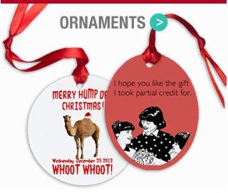 Shop Holiday Ornaments
