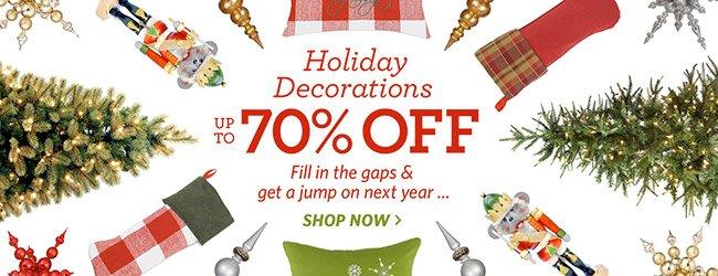 Holiday Decor Sale