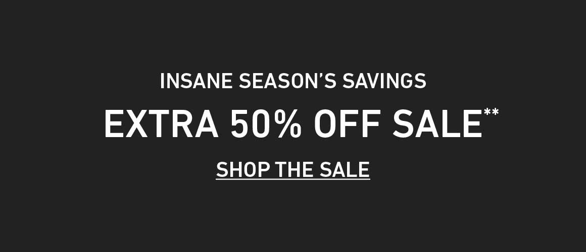 Extra 50% Off Sale!