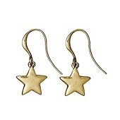 Classic Earrings, Gold plated