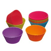 Colourworks Silicone Cupcake Cases, Set of 12, 7cm