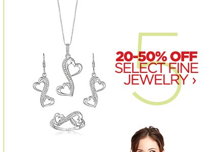 20-50% OFF SELECT FINE JEWELRY ›