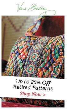 Shop Vera Bradley on Sale