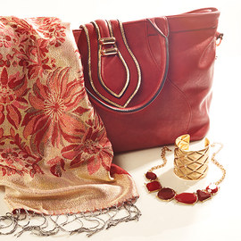 Color Theme: Ruby Red & Gold