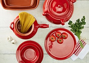 Colorful Ceramics: Dishes & Cookware