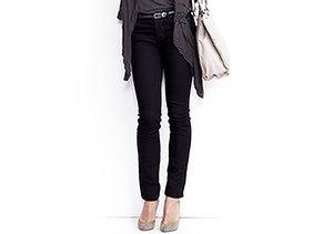 Just $29: Grey & Black Skinny Jeans