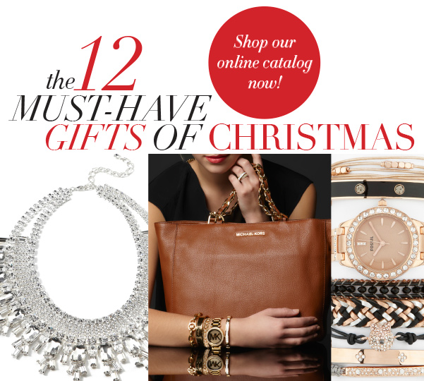 Shop our on line catalog for the 12 Must Have Christmas gifts to buy now.