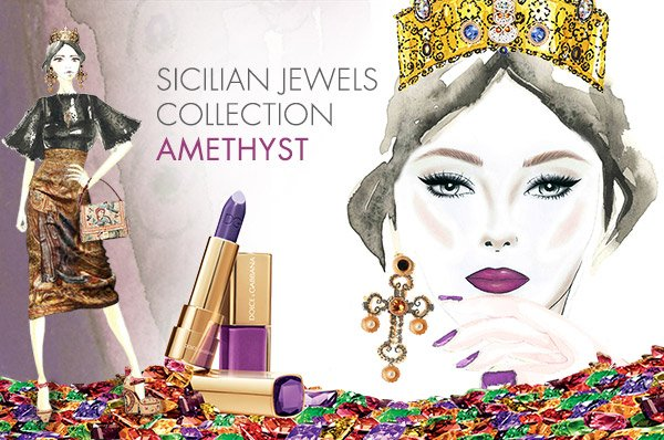 Sicilian Jewels Collection - Amethyst