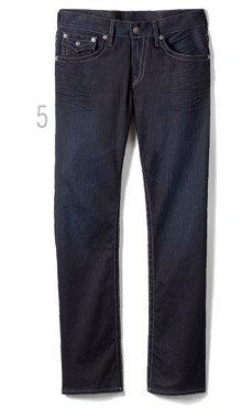 5 - Ricky Straight Coated Jean
