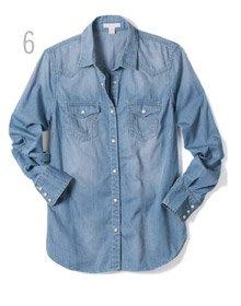 6 - Geogia Denim Shirt