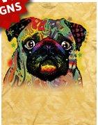 Colorful Pug T-Shirt