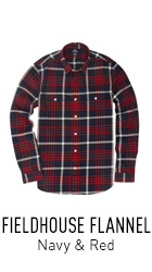 Red and Navy Flannel Shirt