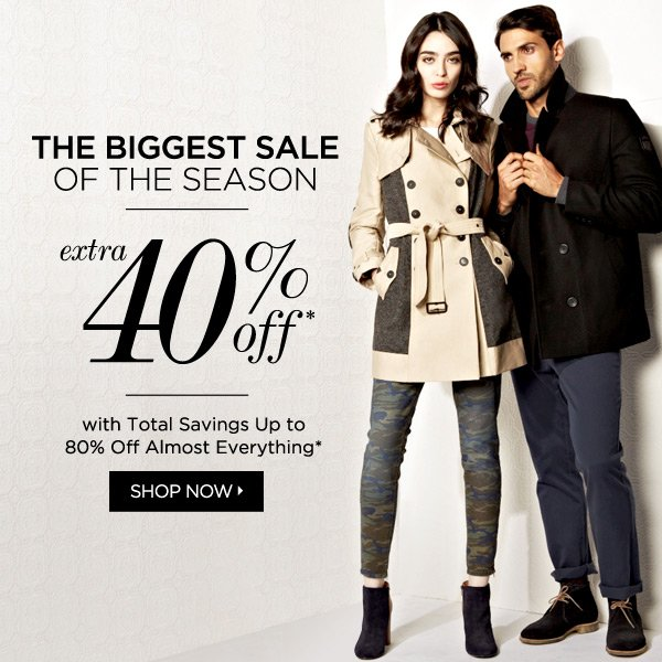Almost 80% Off*