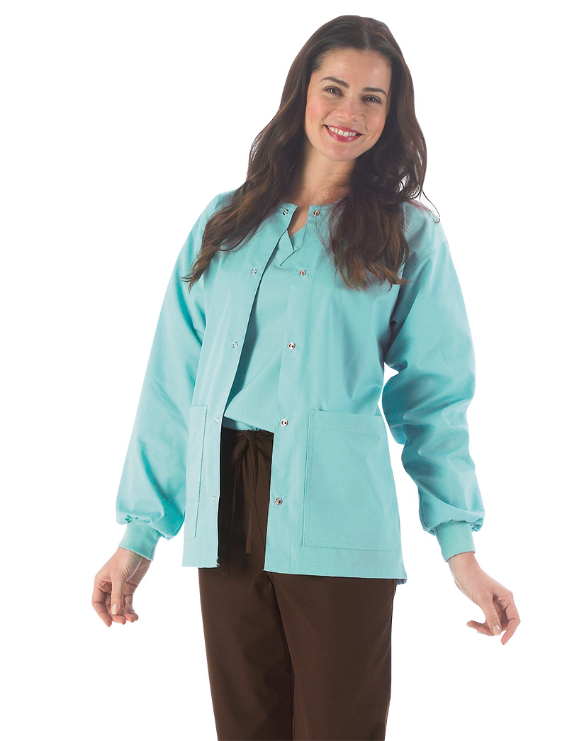 Essentials Basic Warm Up Scrub Jacket