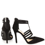 Clementh - Black Suede