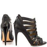 Leo - Black Leather