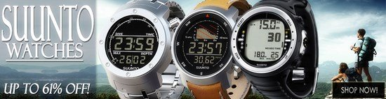 For the Man on your List - Suunto Watches - Up to 61% Off!