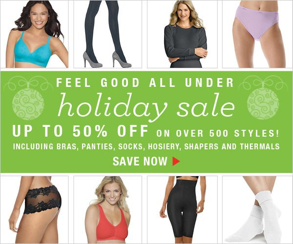 Shop Feel Good All Under Holiday Sale