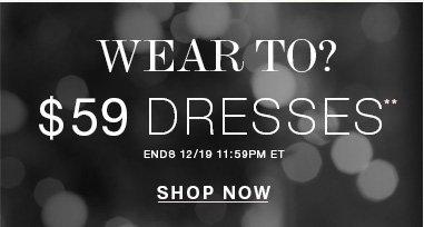 Shop Dresses**