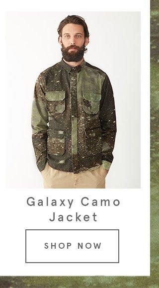 Galaxy Camo Jacket