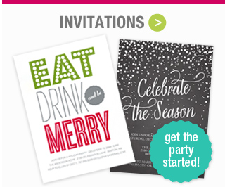 Shop Holiday Invitations