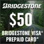 Bridgestone Holiday Savings Event