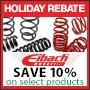 Eibach Holiday Rebate Offer