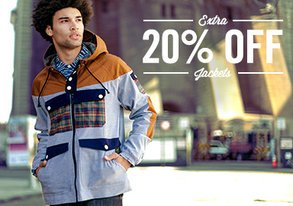 Shop Extra 20% Off: Street Style Jackets