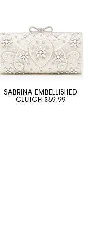 Sabrina Embellished Clutch