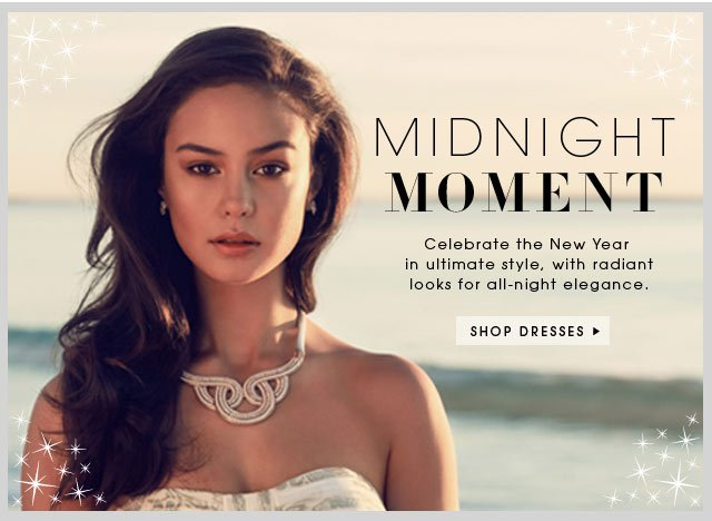 ** Midnight Moment ** Shop dresses.