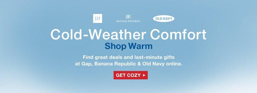Cold-Weather Comfort | Shop Warm | GET COZY