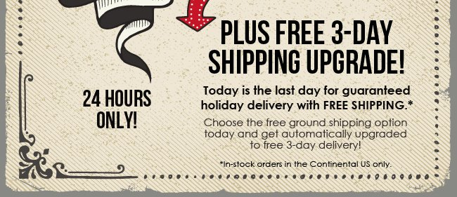 Free Shipping Day Special Offers