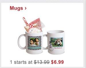 Mugs › 1 starts at $13.99 Now $6.99