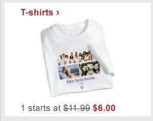 T-shirts › 1 starts at $11.99 Now $6.00