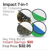 Impact Reflector Disc