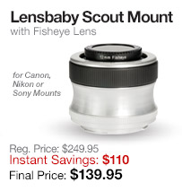 Lensbaby Scout Mount