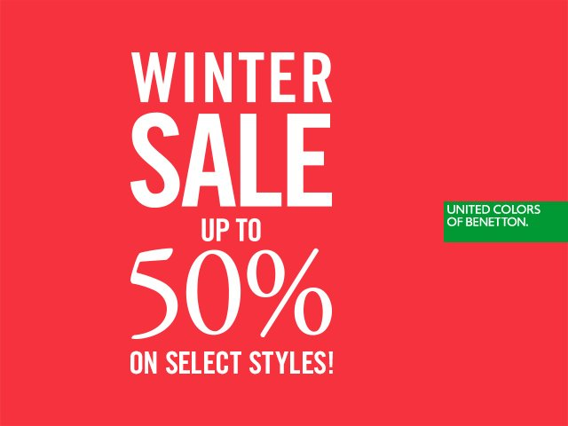 Benetton early access shop winter sale up to 50 off for Benetton usa online shop