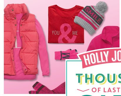 HOLLY JOLLY SALE | THOUSANDS OF LAST-MINUTE GIFTS