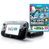 Nintendo Wii U Deluxe Console Set, Black with New Super Mario Bros. U and New Super Luigi U