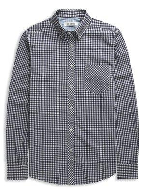 Laundered Gingham Check Shirt