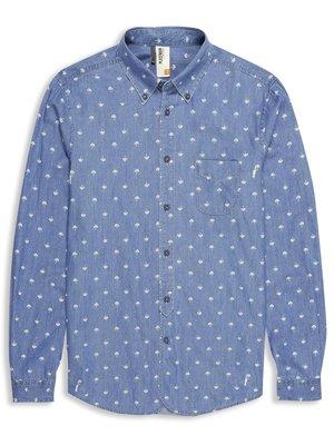 Plectrum Umbrella Print Twill Shirt