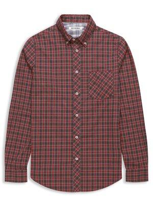 Laundered Oxford Tartan Check Shirt