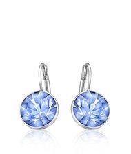 Bella Mini Light Sapphire Pierced Earrings