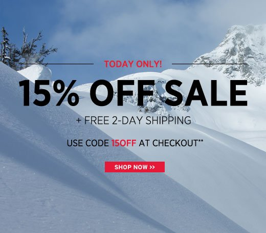 Today Only - take 15% off, including sale. Use code 15OFF at checkout**