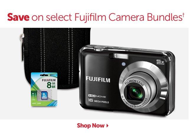 Save on select Fujifilm Camera Bundles+ - Shop Now