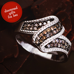 Decadent Jewelry With Chocolate Diamonds