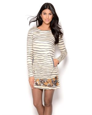 Custo Line Pini Zebra Dress