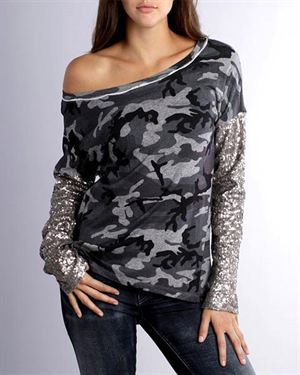 Parasuco Glitter Camouflage Pullover
