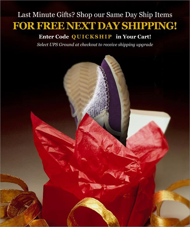 Free Next Day Shipping on Select Products!