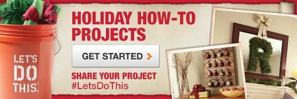 Holiday How-to Projects